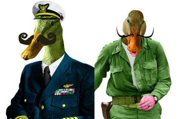 Duck-Billed Collages