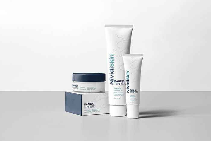Topographical Skincare Packaging