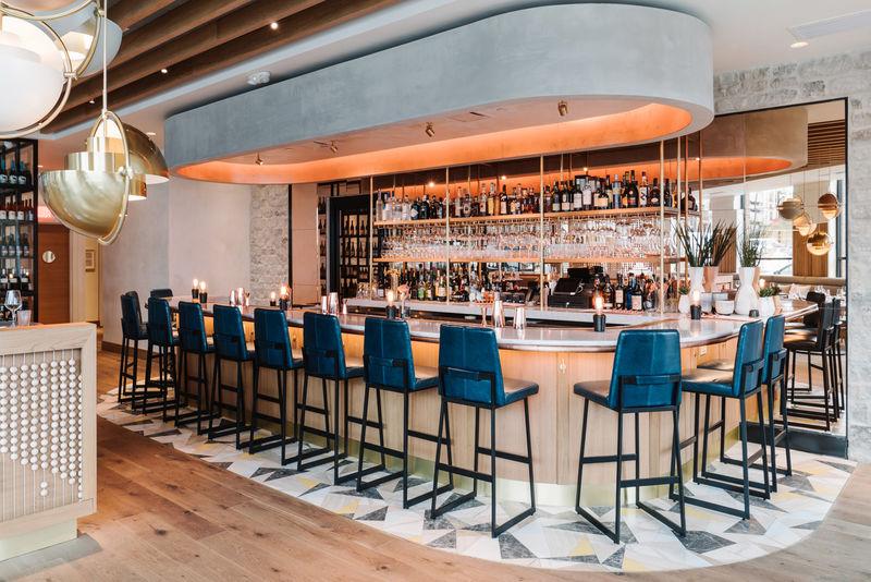 Ultra-Stylish French Restaurant Interiors