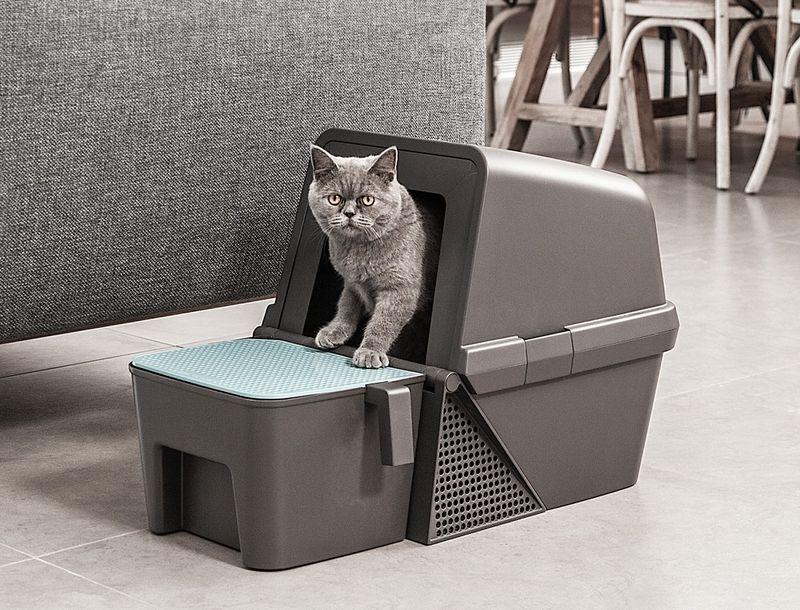 Best Self Cleaning Litter Box 2020.Flipping Self Cleaning Litter Boxes Fresh Flip Litter Box