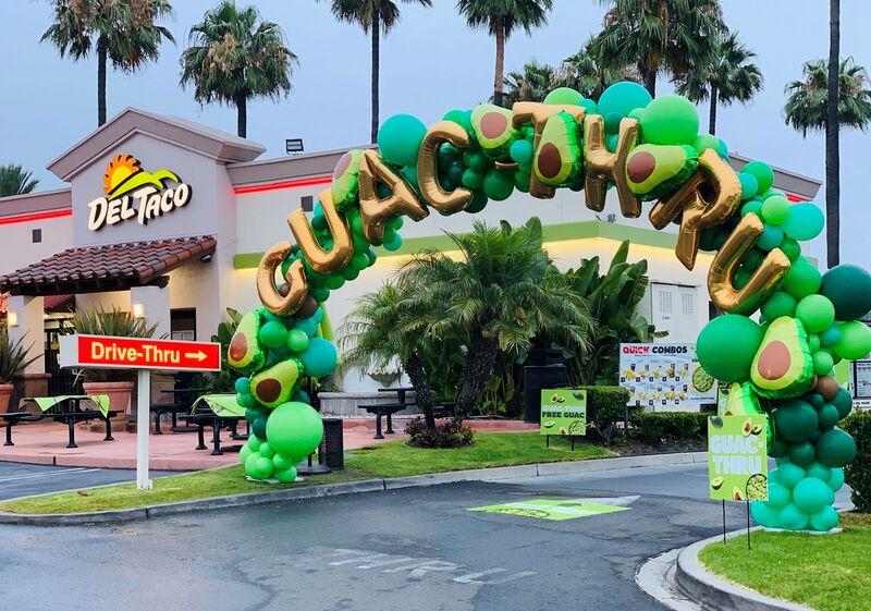 Avocado-Themed Drive-Thrus