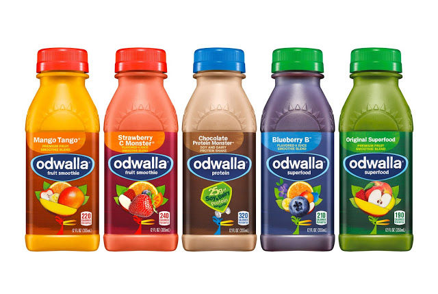 Vibrant Juice Bottles