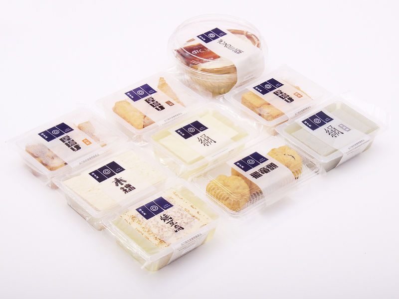 Simplified Tofu Product Packaging