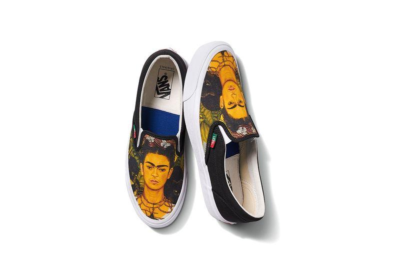 Artist-Honoring Canvas Sneakers