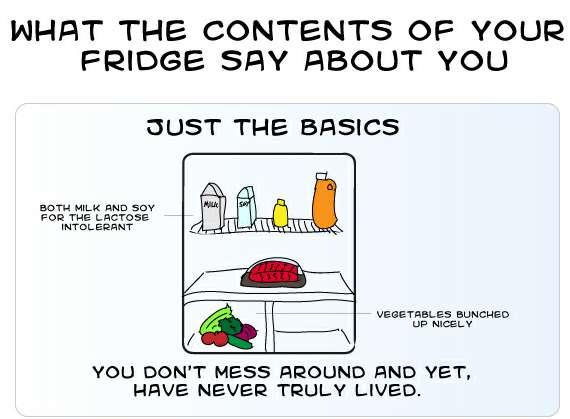 Refrigerator Lifestyle Charts