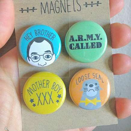 Hilarious Sitcom-Inspired Magnets