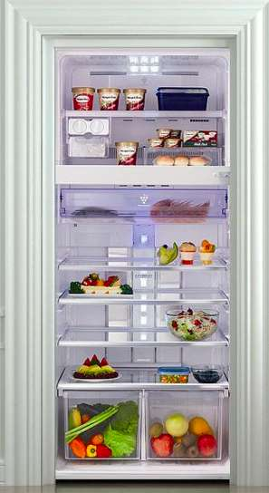 Fully Stocked Refrigerator Decals