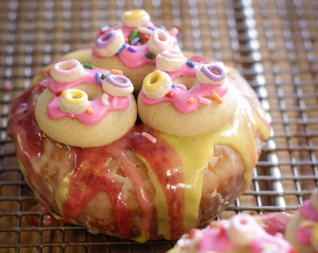 Donut-Topped Donuts