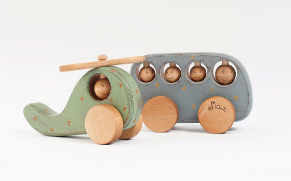 Eco-Friendly Wooden Toys