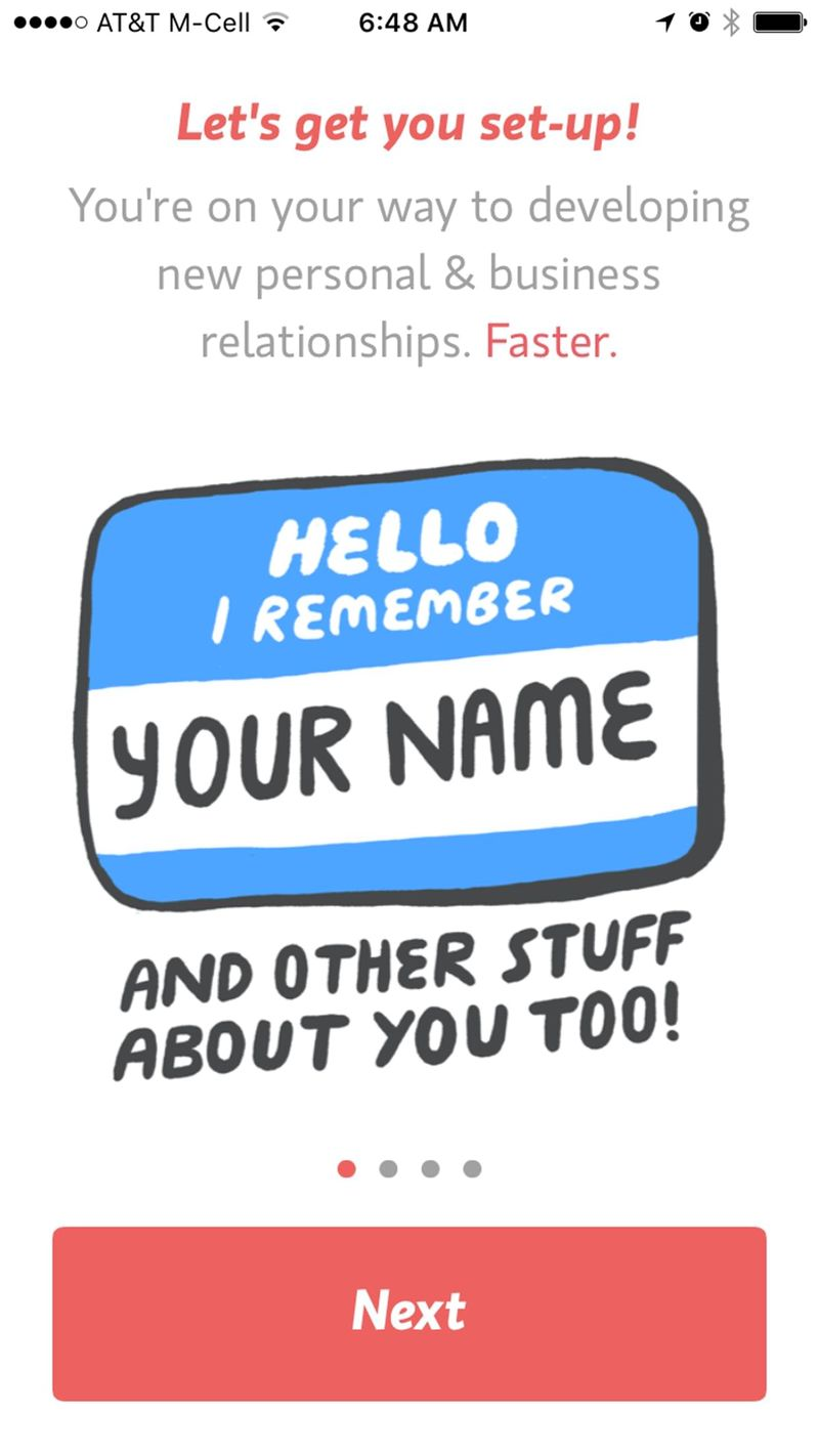 Relationship-Focused Memory Apps