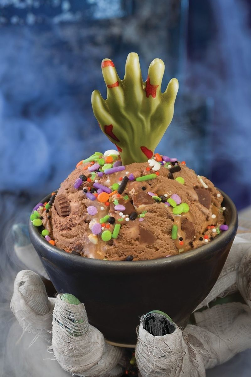 Zombified Ice Cream Treats