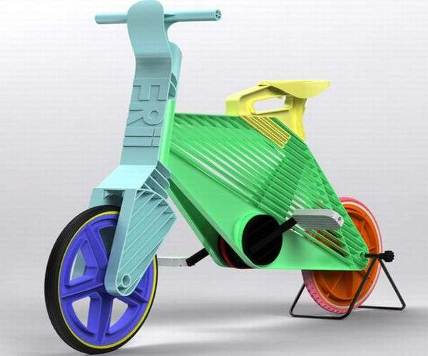 Colorfully Recycled Cycles