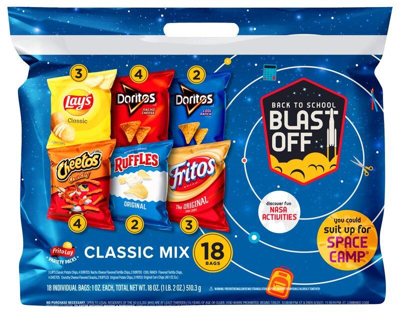 STEM-Celebrating Snack Packs