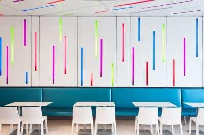 Color-Burst Confection Cafes
