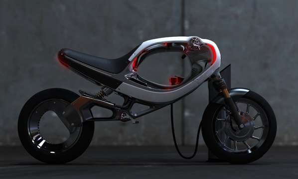Futuristic Electric Motorcycles