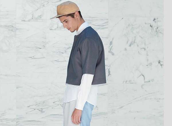 Minimalist Color-Blocked Fashion