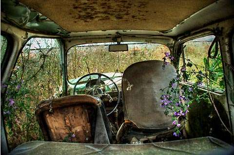 Abandoned Auto Photography