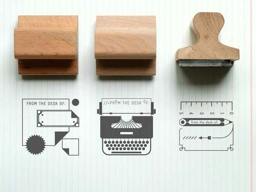Graphic Rubber Stamps