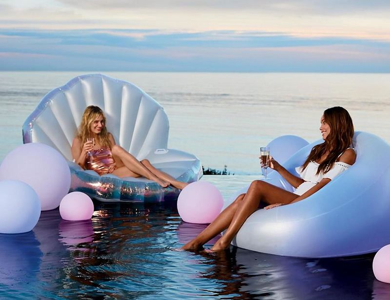 Color-Changing Inflatable Chairs