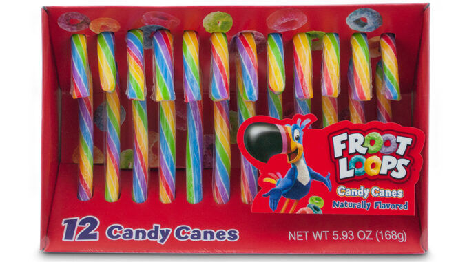 Cereal-Flavored Candy Canes