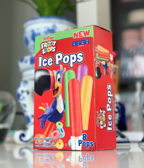 Cereal-Flavored Ice Pops