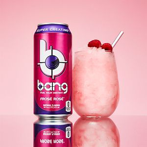 Rosé-Flavored Energy Drinks