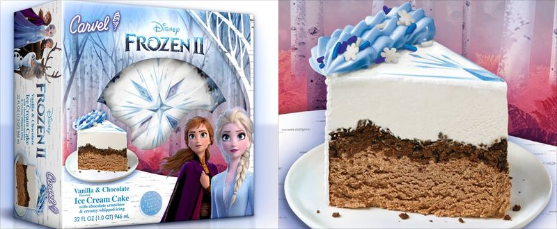 Disney-Branded Frozen Cakes