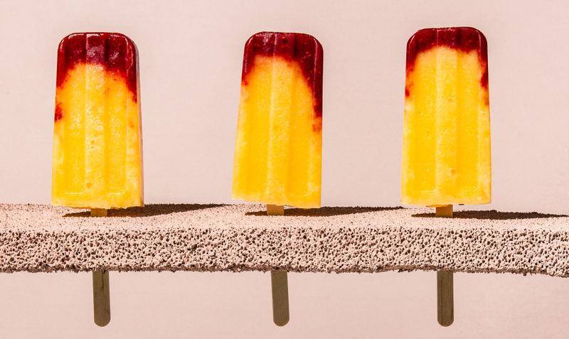 Frozen Bellini Treats