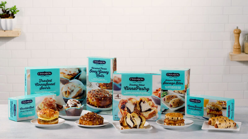 Bakery-Inspired Frozen Breakfasts