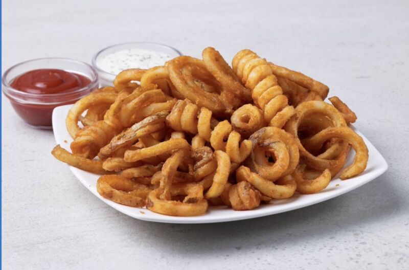 Fast-Food Frozen Curly Fries