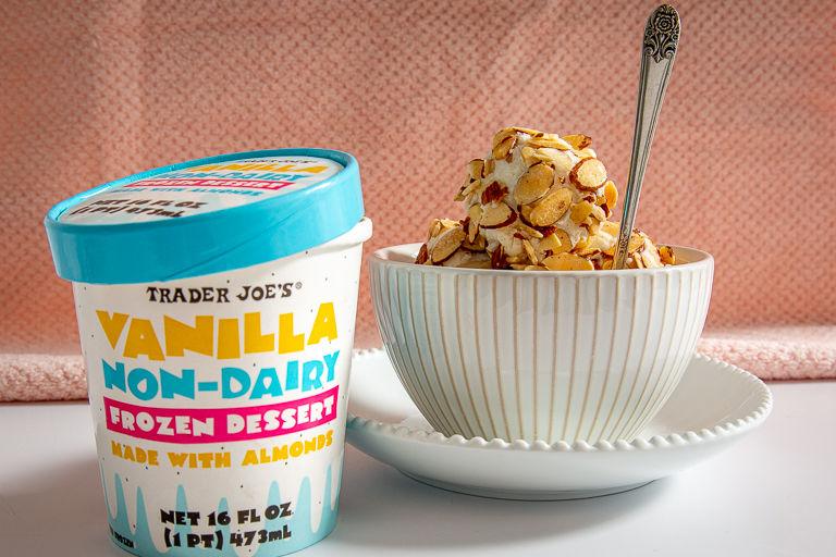 Almond-Based Frozen Desserts