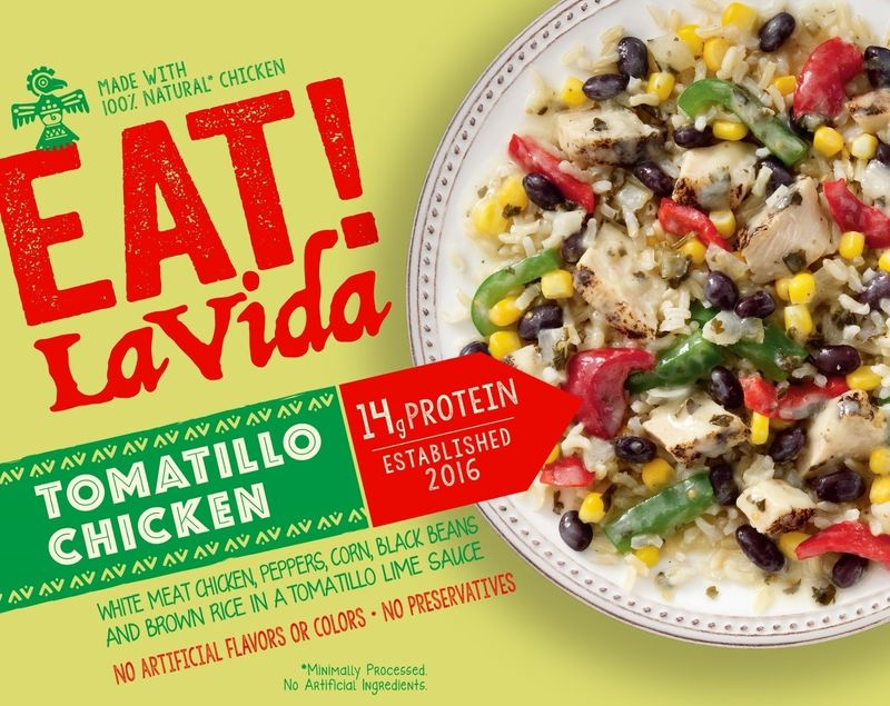 Latin-Inspired Frozen Entrees