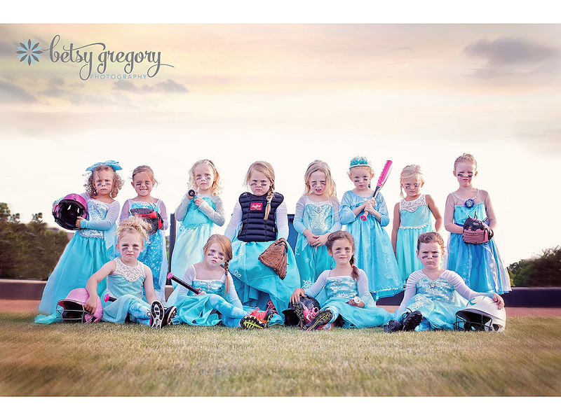 Princess Softball Uniforms