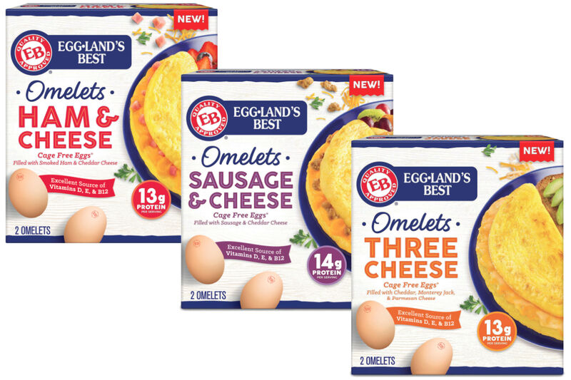 Ready-Made Frozen Omelets