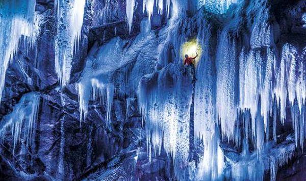 Electrifying Icy Alpine Photography