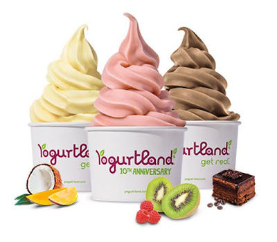 International Frozen Yogurt Flavors