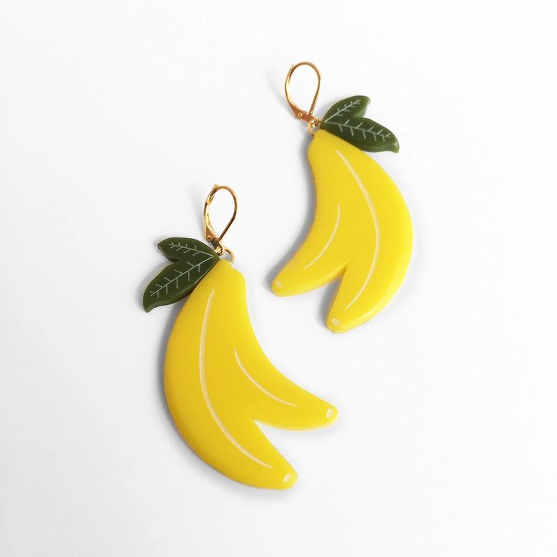 Produce-Inspired Earring Accessories