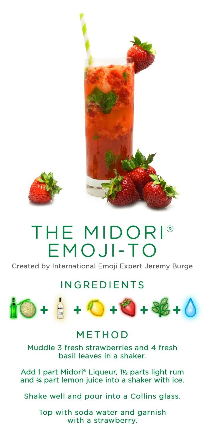 Emoji-Inspired Cocktail Recipes