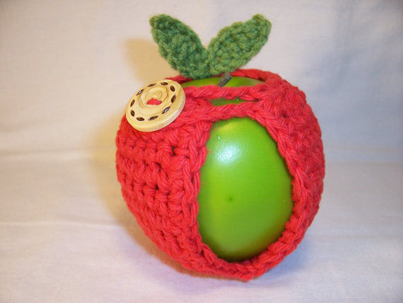 Crocheted Fruit Cozies
