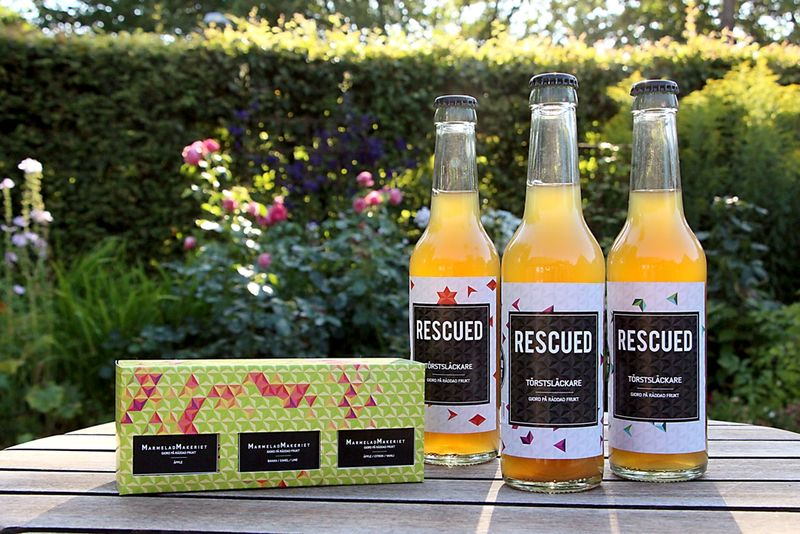 Repurposed Fruit Drinks