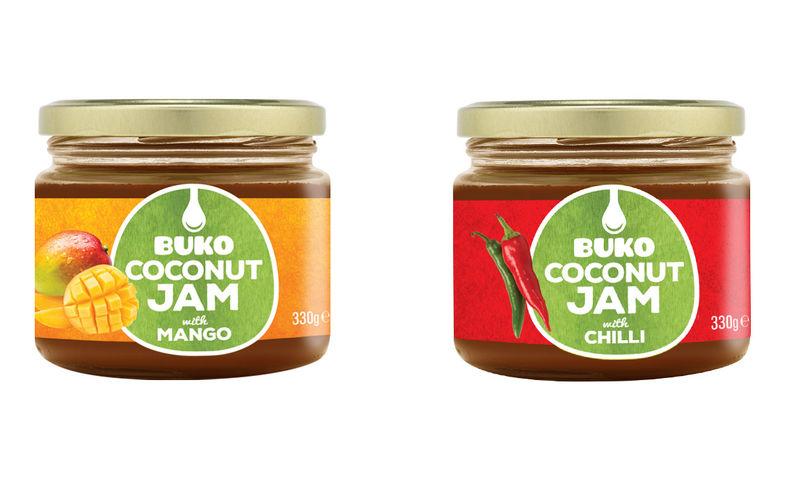 Exotic Organic Coconut Jams