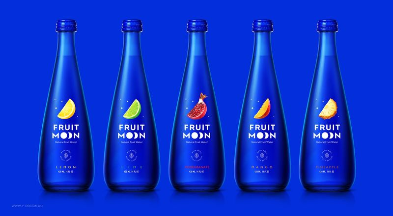 Conceptual Moon Water Drinks