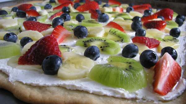 Berry Savory Pizzas
