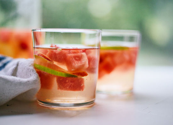 Citrusy Watermelon Sangrias