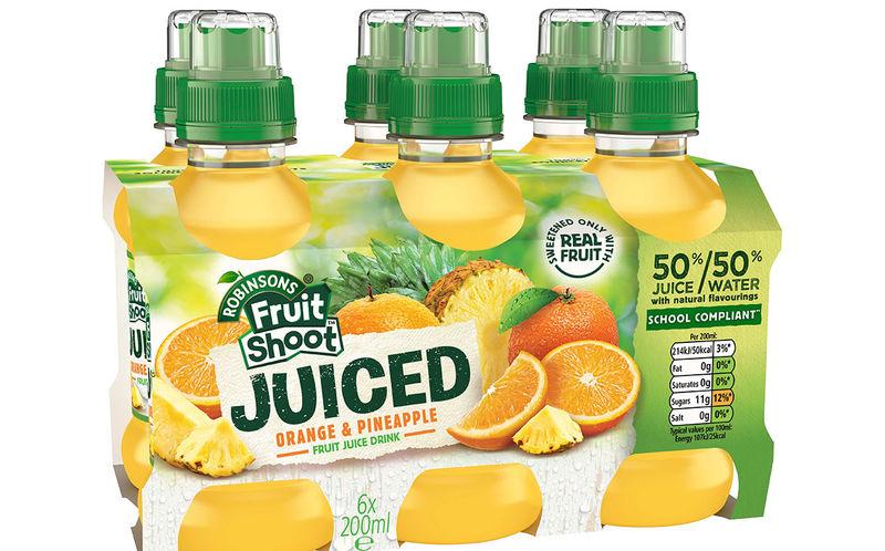 Balanced Fruit Juice Drinks