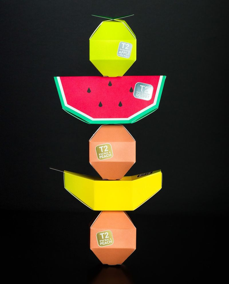 Fruit-Shaped Tea Packaging