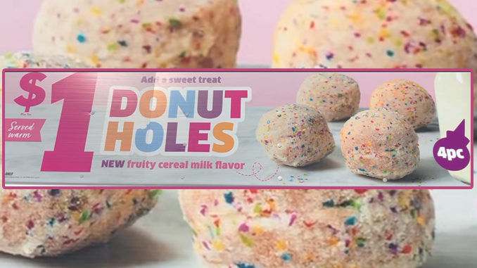 Cereal Milk Donut Holes