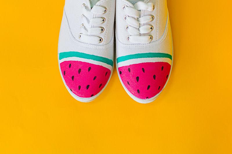 Fruity Sneaker DIYs