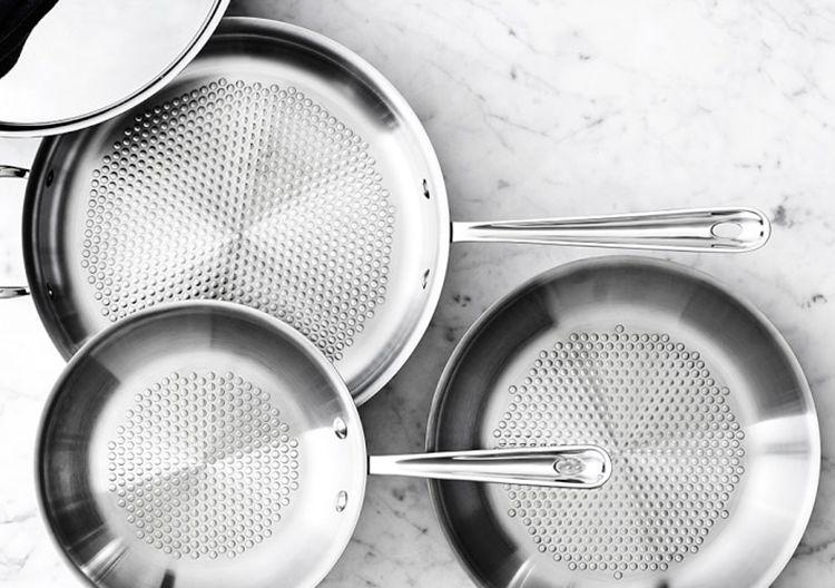 Damage-Thwarting Frying Pans