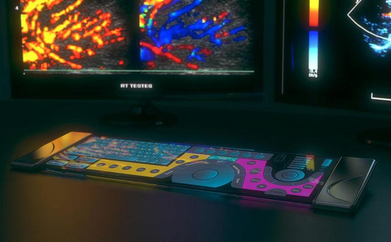 Stylish OLED Keyboards
